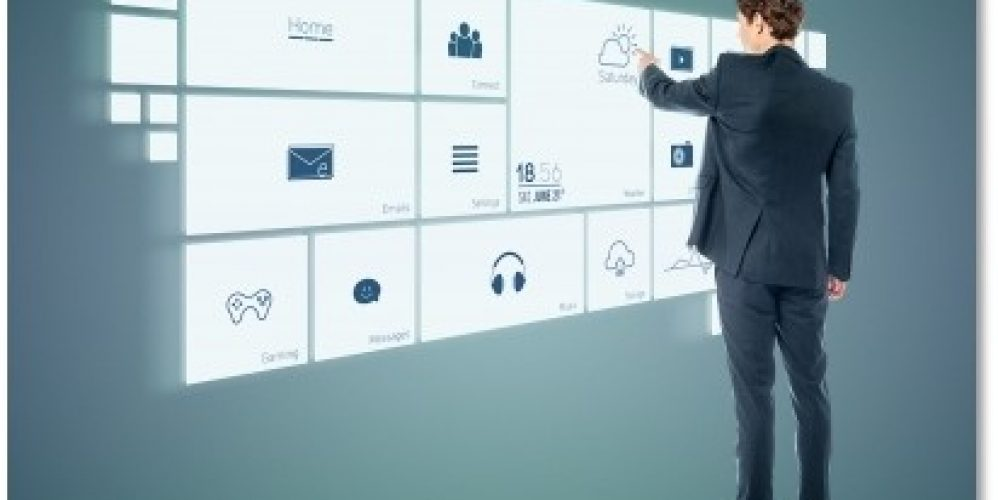 Businessman Working With Virtual Surface_shadow